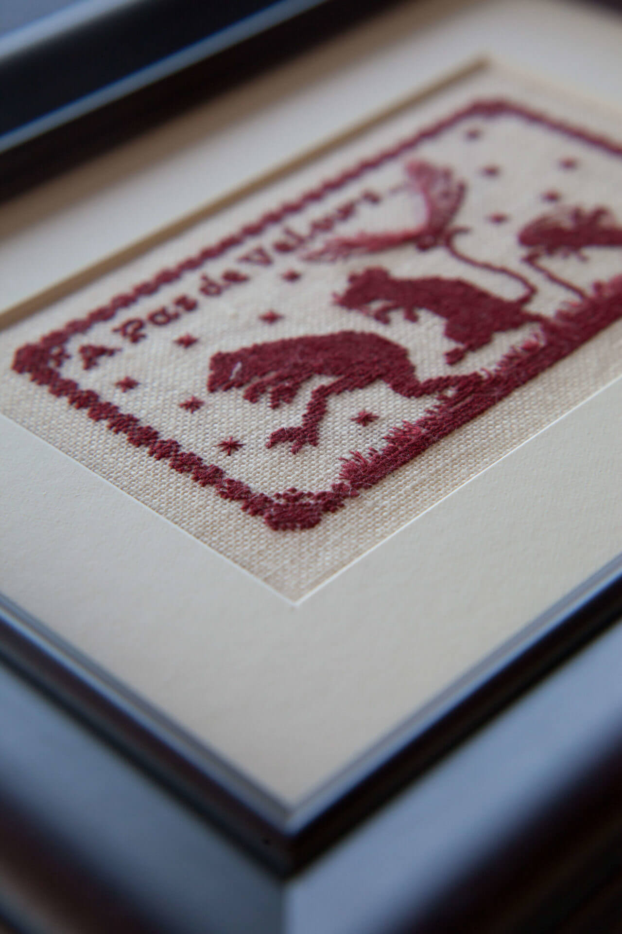 Needlework and Fabric Art Framing - The Framing Workshop